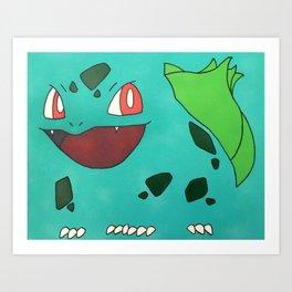 Bulba. Grass-type Art Print