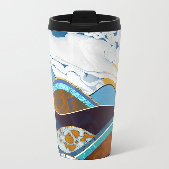 Rolling Hills Metal Travel Mug