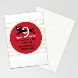 Nine Lives Stationery Cards
