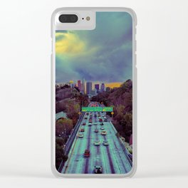 Freeway of Lost Angels Clear iPhone Case
