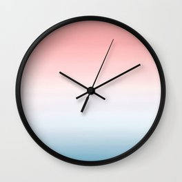 Pantone Ombre 2016 Color of The Year Wall Clock