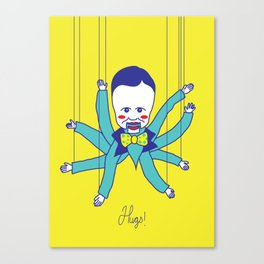 Hugs Canvas Print