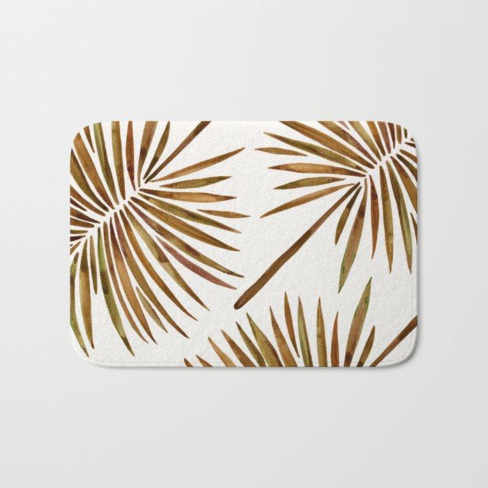 Tropical Fan Palm – Sepia Bath Mat
