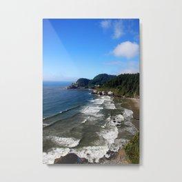 Northern Coastline Metal Print