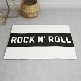 Stamp Series: ROCK N' ROLL Rug
