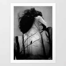 inner night Art Print