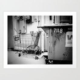 Alley Way Story Art Print