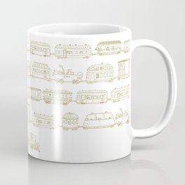 Marco's train - Bronze Coffee Mug
