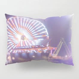 California, Los Angeles, beach, seaside, ocean, surf, downtown, Cali, SoCal, west coast, sky, summer Pillow Sham