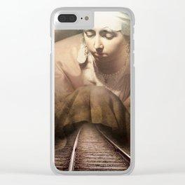 Hidden Road Clear iPhone Case