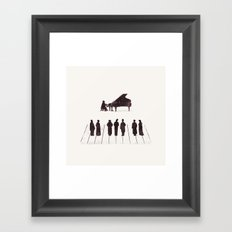 A Great Composition Framed Art Print