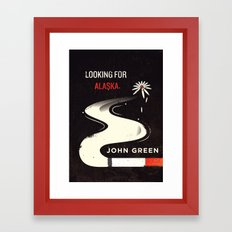 Looking for Alaska Framed Art Print