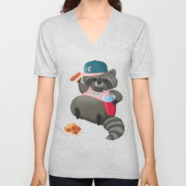 Rad Raccoon Unisex V-Neck