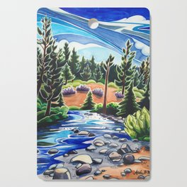 Between Water and Sky Cutting Board