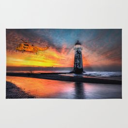 Lighthouse Rescue Rug