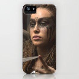 Lexa 01 iPhone Case