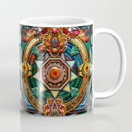 Extraordinary Celtic Mandala Coffee Mug
