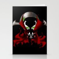 spawn Stationery Cards featuring Chibi Spawn by artwaste