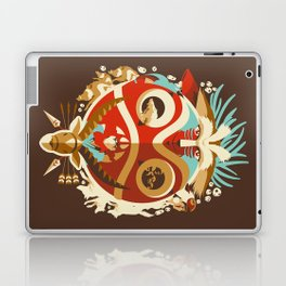 The Days of Gods and Demons Laptop & iPad Skin