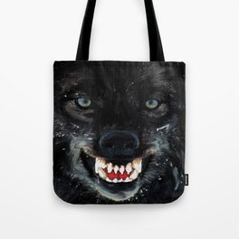 Fanged Tote Bag