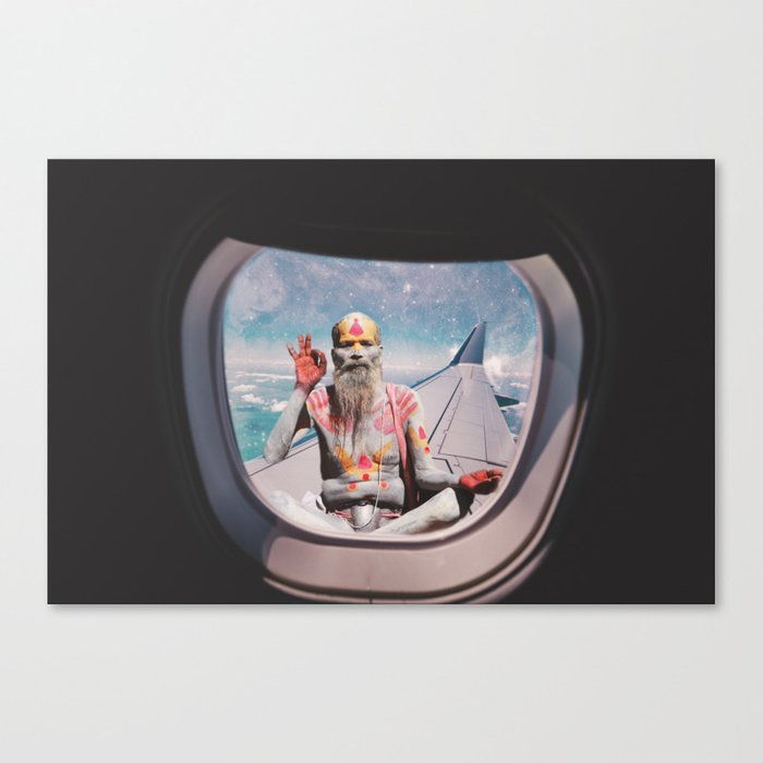 EVERYTHING IS OKAY - YOGI MEDIATION Canvas Print