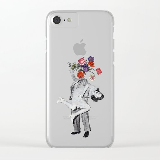 Romantic Savage Clear iPhone Case