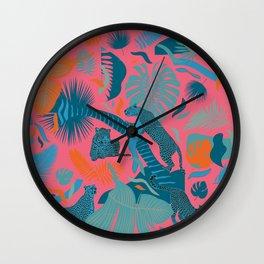Surreal Wildlife / Cuba Mood Wall Clock
