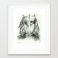 marine Framed Art Prints featuring Marine by Inspirations