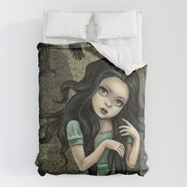 Shadow Wings Faerie Duvet Cover