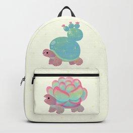 Cactus tortoise Backpack