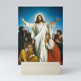 Christus Consolator by Carl Bloch Mini Art Print