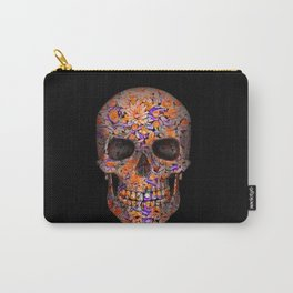 Unique floral Sugarskull Carry-All Pouch