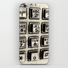 What's Your Number? iPhone Skin