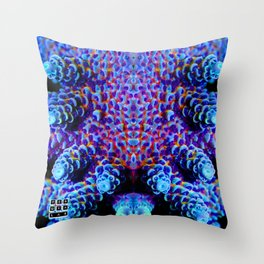 Aussie Acropora Throw Pillow