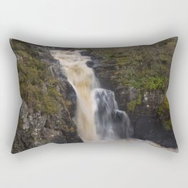 The Falls of Kirkaig Rectangular Pillow