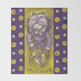 I'm Chucky, and I'm your friend till the END! Throw Blanket