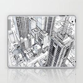 City view Laptop & iPad Skin