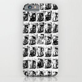 Sri Lankan Tuc Tuc collage iPhone Case