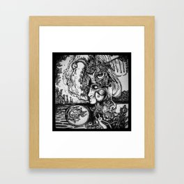 Swan Medicine Framed Art Print