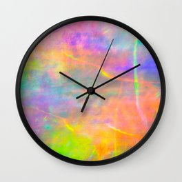 Prisms Play of Light 2 Wall Clock
