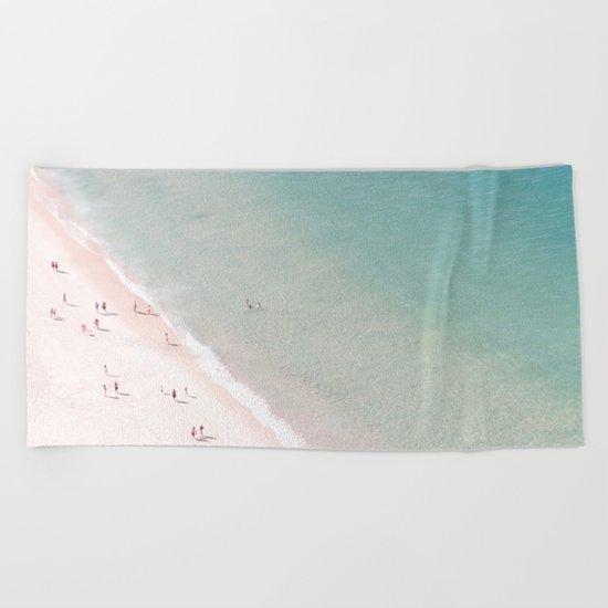 beach - summer of love Beach Towel