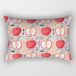 Apple Orchard Pattern Rectangular Pillow
