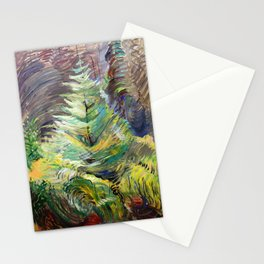 Emily Carr - Heart of the Forest - Canada, Canadian Oil Painting - Group of Seven  Stationery Cards