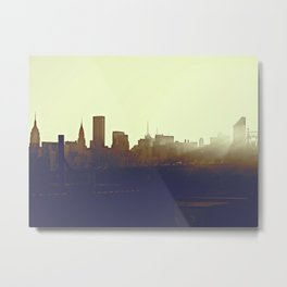 Across from Manhattan Metal Print