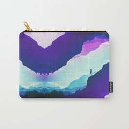 Violet dream of Isolation Carry-All Pouch