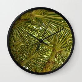 Pandanus Sanderi Wall Clock