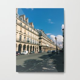 Rue de Rivoli, Paris Metal Print