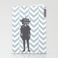 sci fi Stationery Cards featuring Sci-Fi Geek by Jade Deluxe