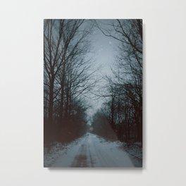 Dark Winter Metal Print
