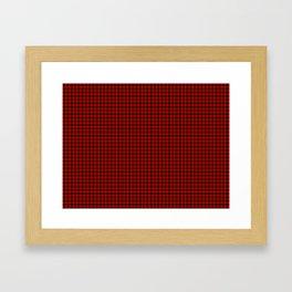 Wallace Tartan Framed Art Print